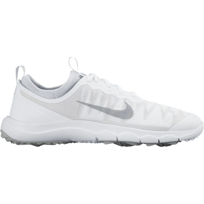 Nike Women's FI Bermuda Golf Shoes White/Grey