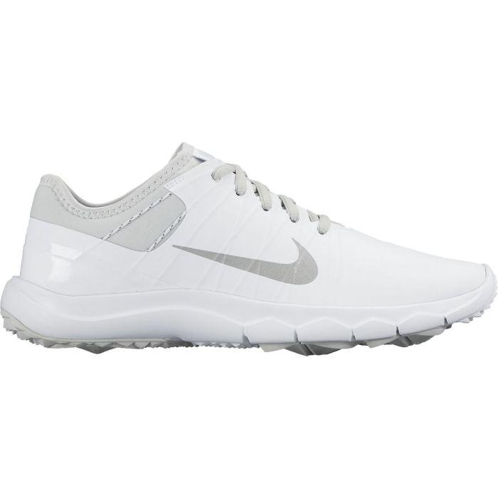 Nike Women's FI Impact 2 Golf Shoes White/Platinum
