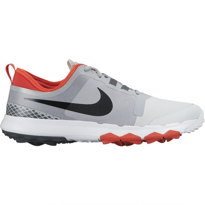 Nike FI Impact 2 Golf Shoes Grey/Black/Orange