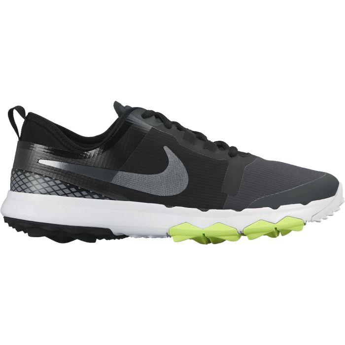 Nike FI Impact 2 Golf Shoes Black/Grey/Lime