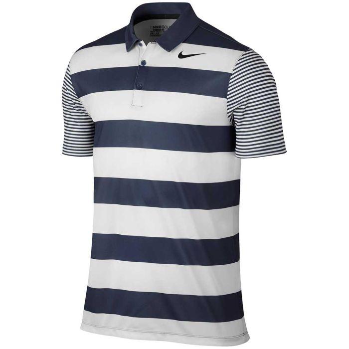 Nike Breathe Bold Stripe Polo