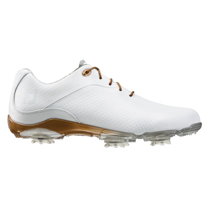 FootJoy Women's D.N.A. Golf Shoes White/Gold