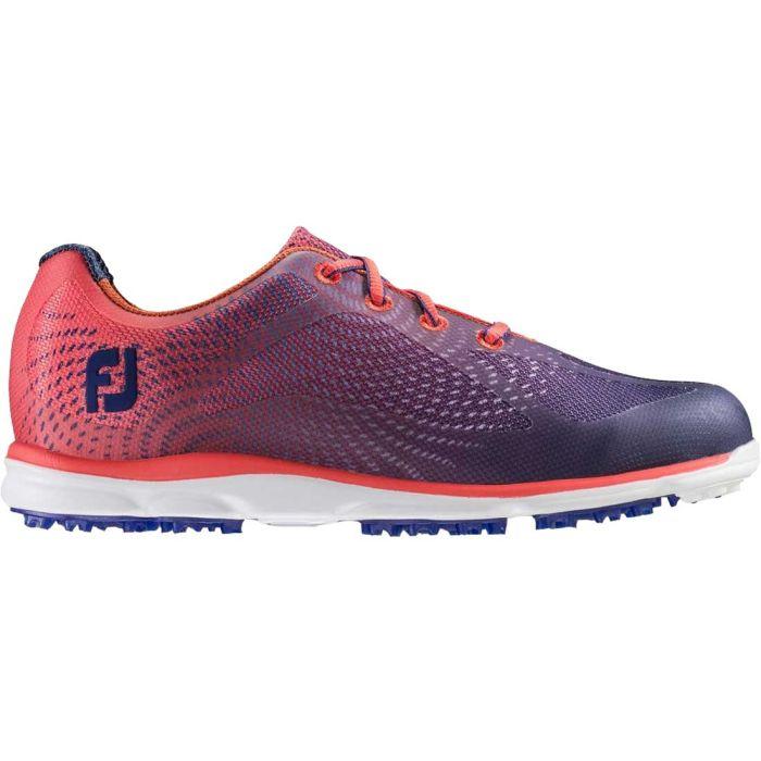 FootJoy Women's emPOWER Golf Shoes Navy/Papaya