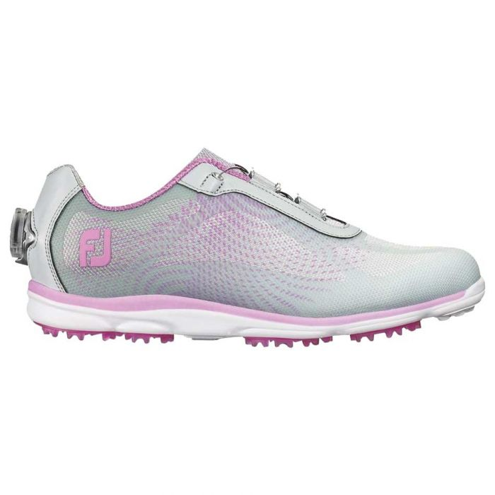 FootJoy Women's emPOWER Boa Golf Shoes Silver/Lilac