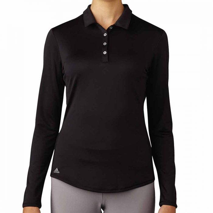 Adidas 2017 Women's Performance Long Sleeve Polo