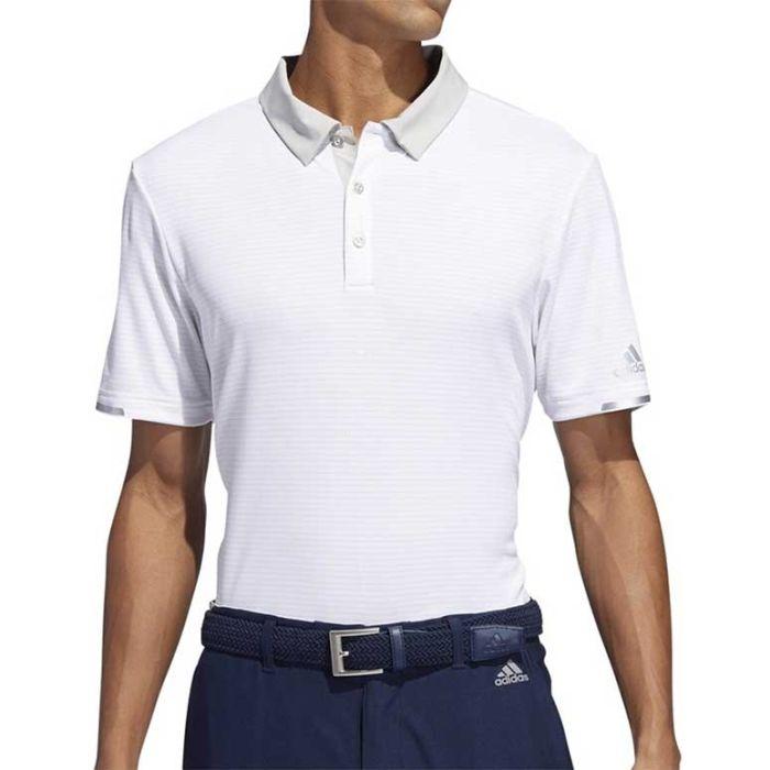 Adidas 2019 Climachill Tonal Stripe Polo