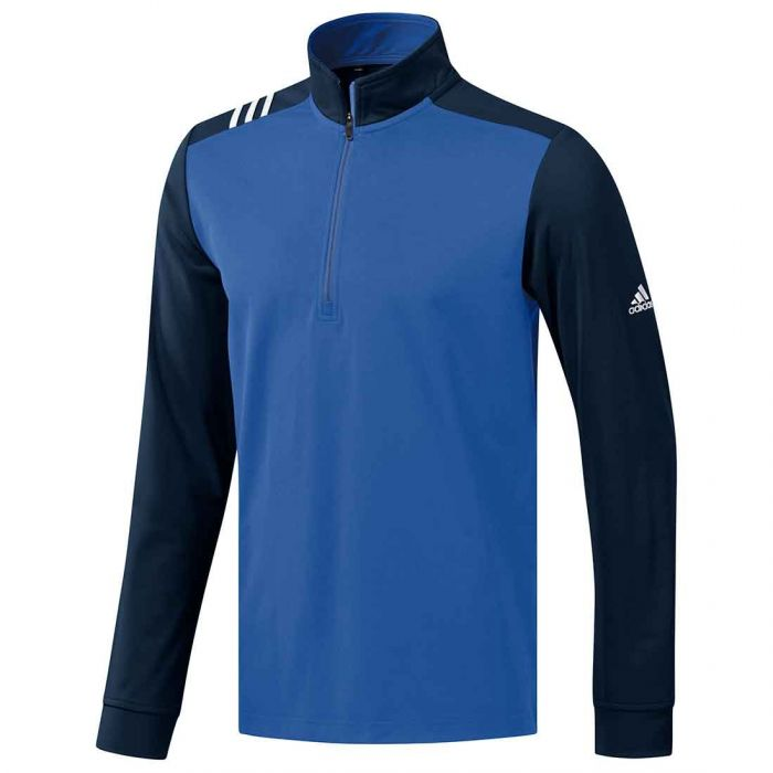 Adidas SS19 3-Stripe Core 1/4 Zip Pullover