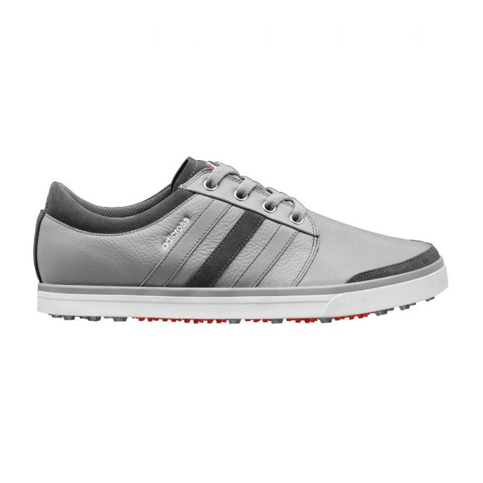 Adidas adiCross Gripmore Golf Shoes Aluminum/White