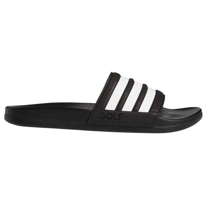 Adidas Adilette Golf Slide Black/White