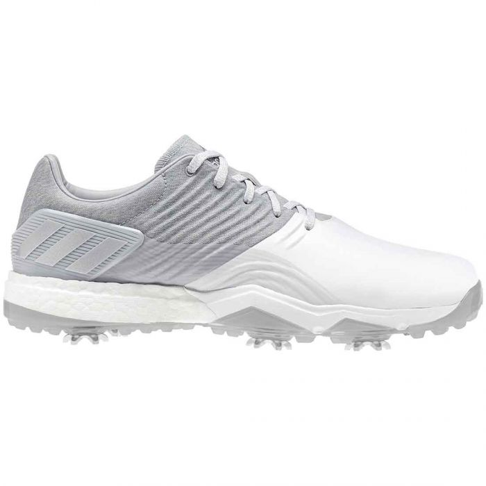 Adidas AdiPower 4orged Golf Shoes Grey/White