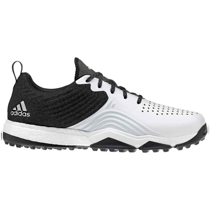 Buy Adidas Adipower 4orged S Golf Shoes Black White Golf Discount