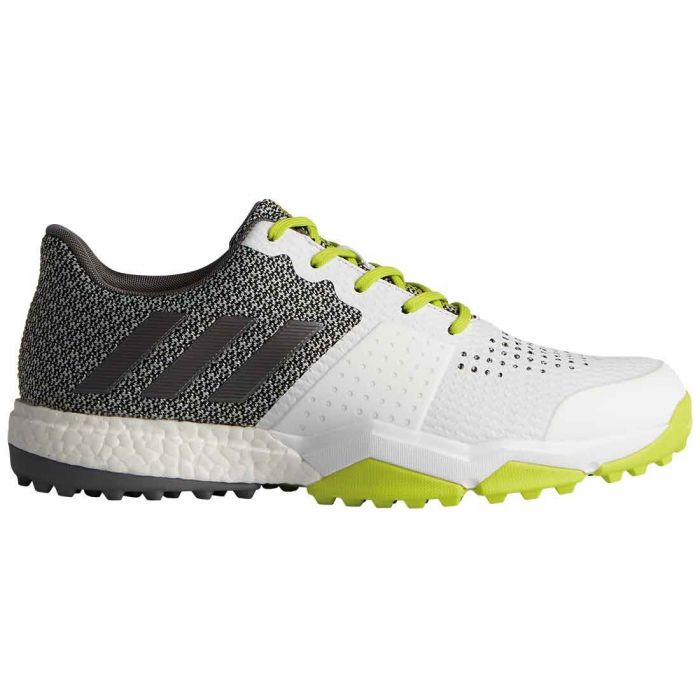 Buy Adidas AdiPower Sport Boost 3 Golf Shoes White/Silver/Yellow ...