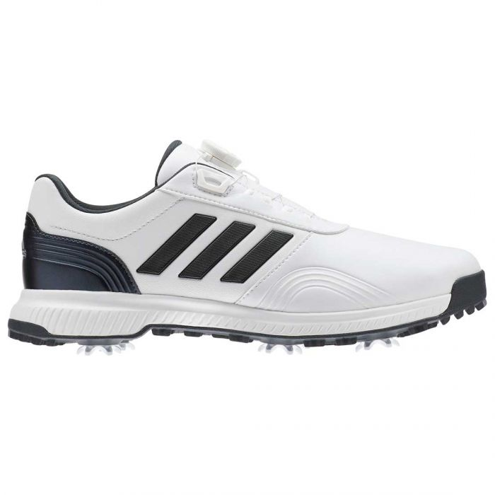 Adidas CP Traxion BOA Golf Shoes White/Grey