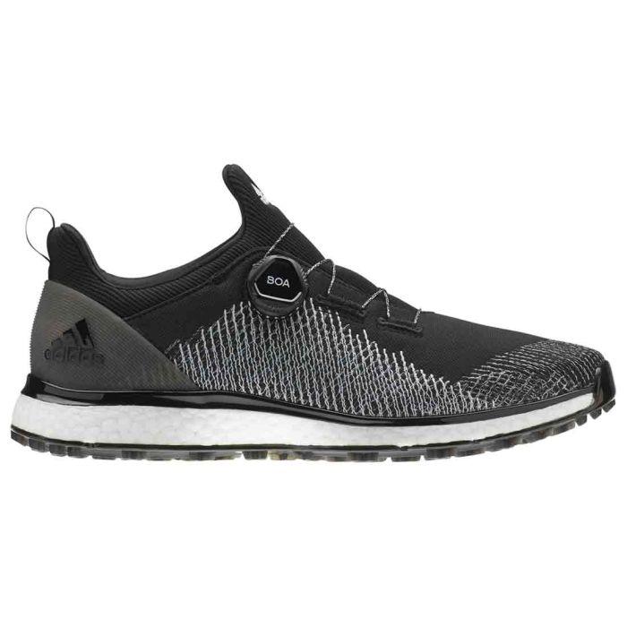 Adidas Forgefiber BOA Golf Shoes Core Black