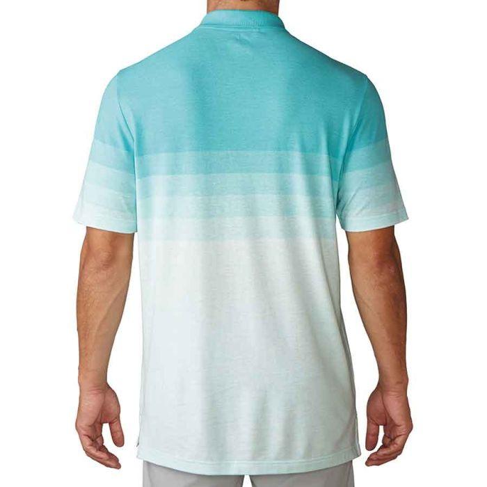 Adidas Gradient Stripe Pique Polo