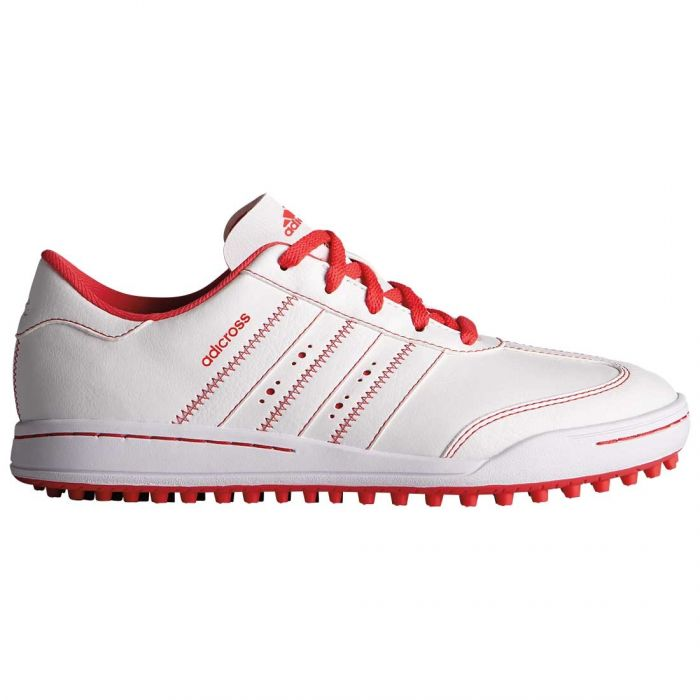 Buy Adidas Juniors AdiCross V Golf Shoes White/Core Pink | Golf ...