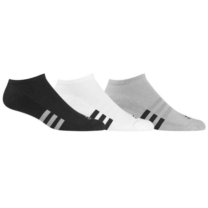 Adidas No-Show Socks (3-Pack)