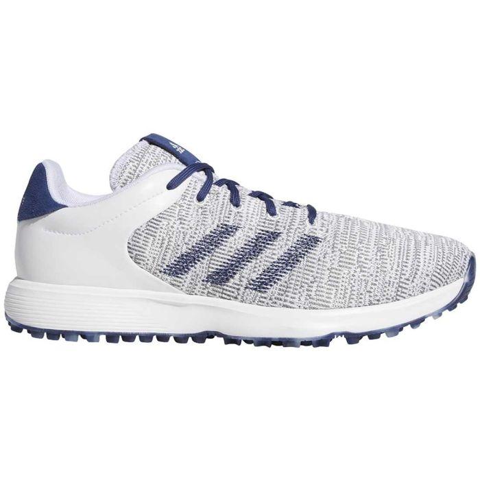 Adidas S2G Golf Shoes White/Tech Indigo/Grey