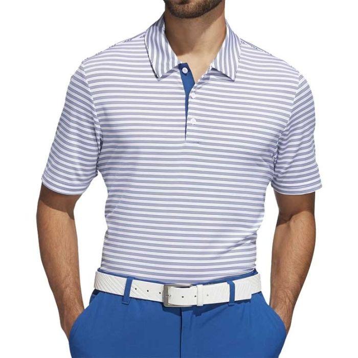 Adidas SS19 Ultimate365 2-Color Stripe Polo