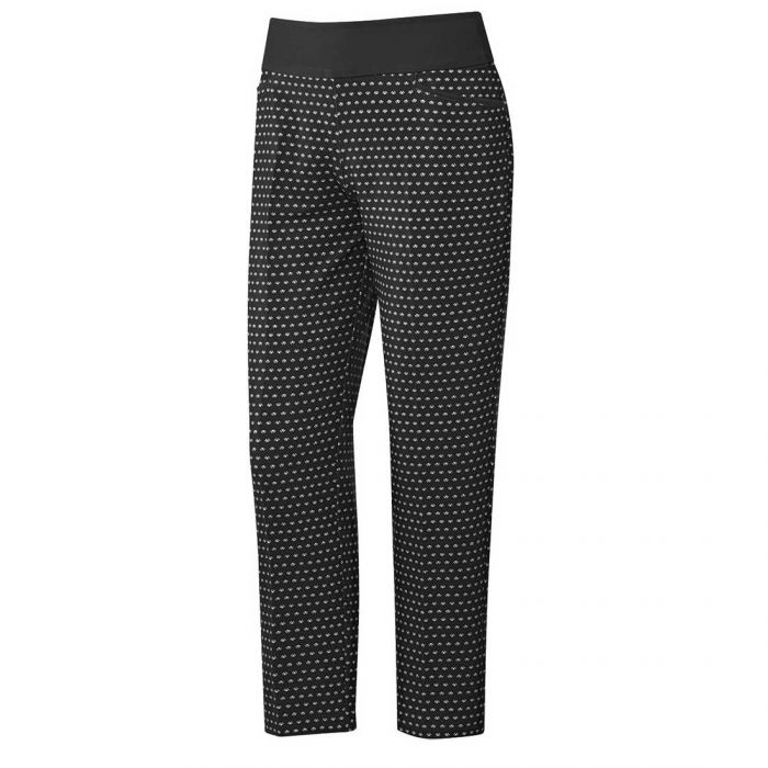 Adidas SS20 Women's Ultimate365 Printed Pull-On Ankle Pants