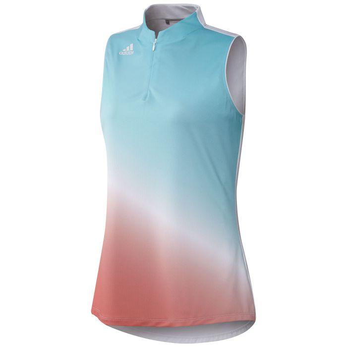 Adidas Women's Aeroready Gradient Sleeveless Polo