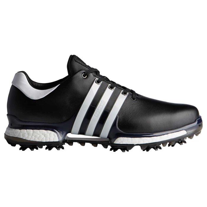 Adidas Tour360 Boost 2.0 Golf Shoes Black/White