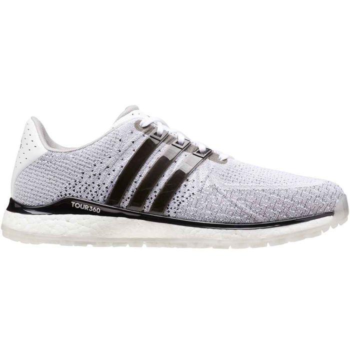 Adidas Tour360 XT-SL Textile Golf Shoes White/Black/Grey