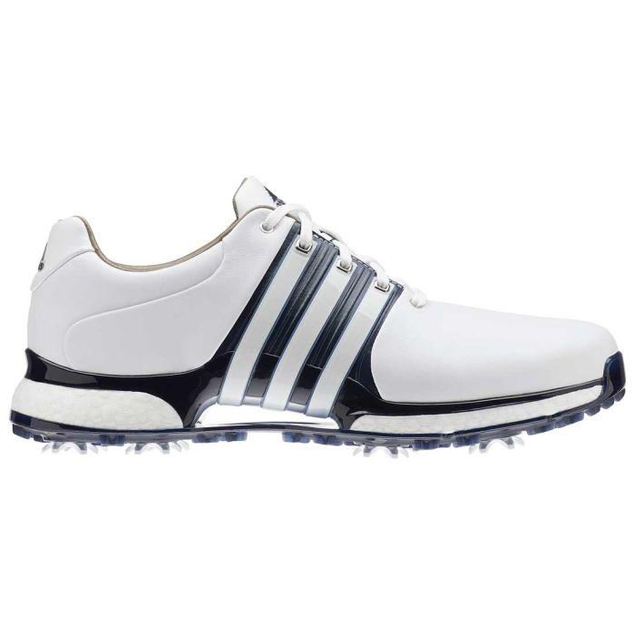 Adidas Tour360 XT Golf Shoes White/Navy