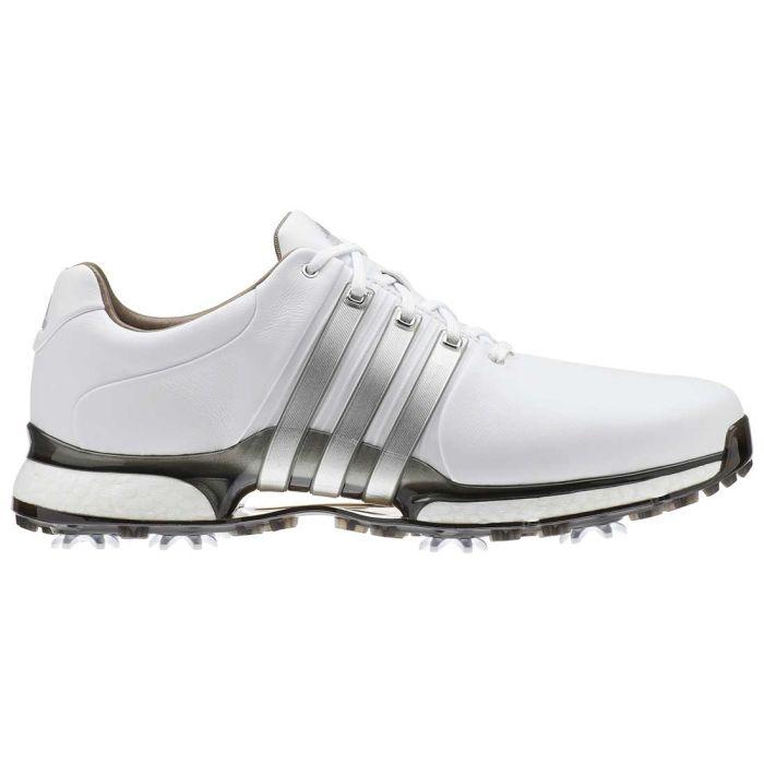 Adidas Tour360 XT Golf Shoes White/Silver