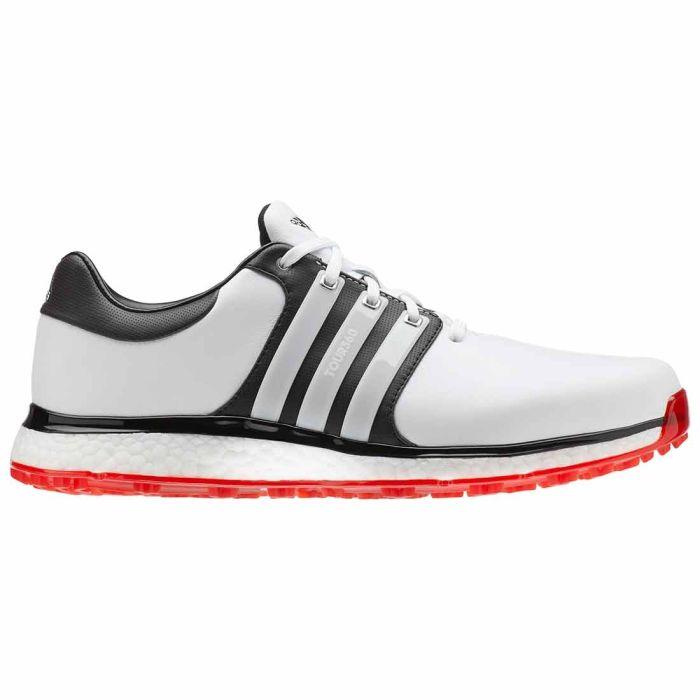Adidas Tour360 XT-SL Golf Shoes White/Black/Red