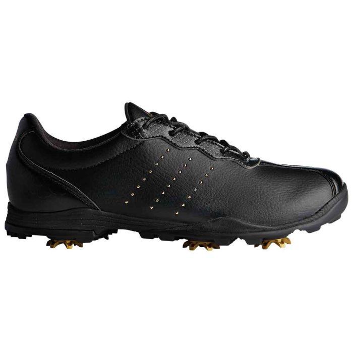 Adidas Women's AdiPure DC Golf Shoes Black/Gold