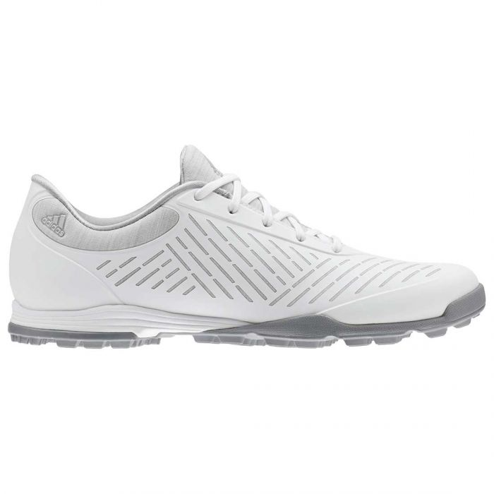 Adidas Women's AdiPure Sport 2.0 Golf Shoes White/Grey