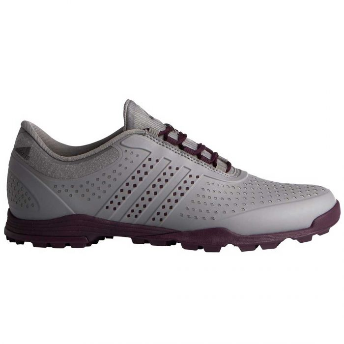Adidas Women's AdiPure Sport Golf Shoes Grey Four/Red Night