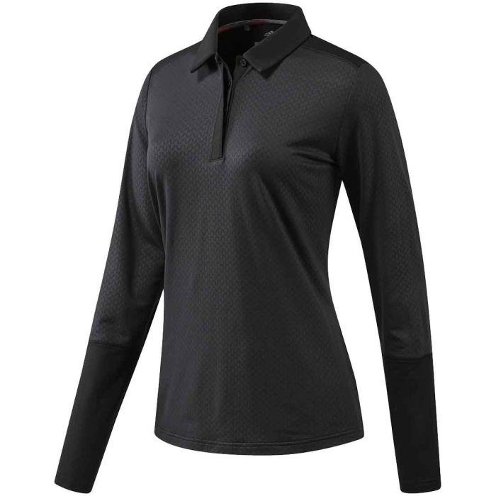 Adidas Women's Climaheat Longsleeve Polo