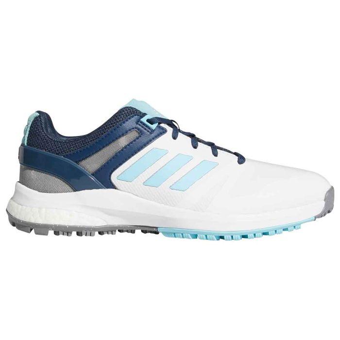 Adidas Women's EQT Spikeless Golf Shoes White/Hazy Sky