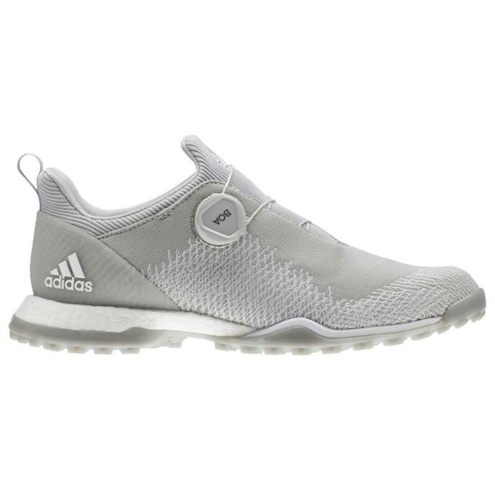 Adidas Women's Forgefiber BOA Golf Shoes Grey Two