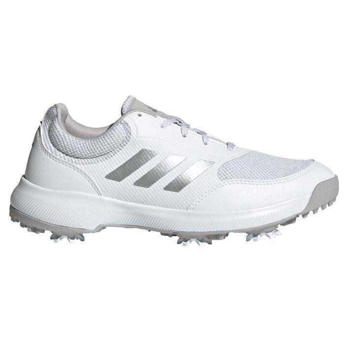 Adidas Women's Tech Response Golf Shoes White/Silver/Grey Two