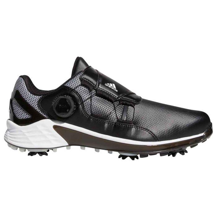 Adidas ZG21 Boa Golf Shoes Black/White