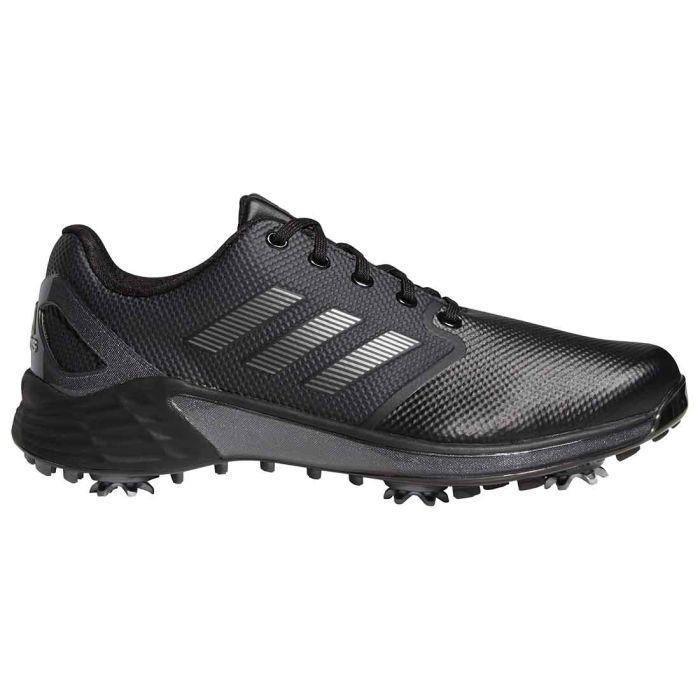 Adidas ZG21 Golf Shoes Black/Dark Silver