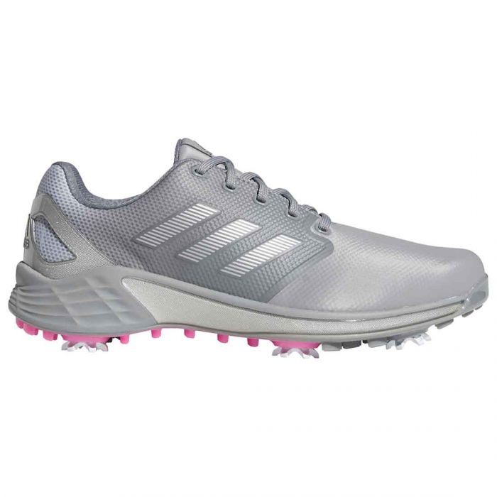 Adidas ZG21 Golf Shoes Grey/Scream Pink