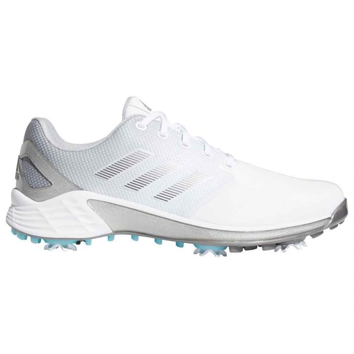 Adidas ZG21 Golf Shoes White/Dark Silver
