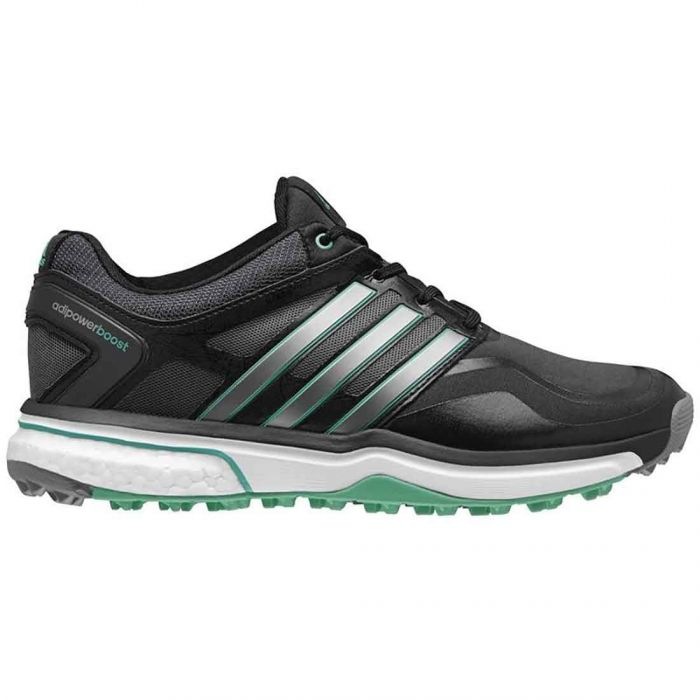 Adidas Women's AdiPower Sport Boost Golf Shoes Black/Silver