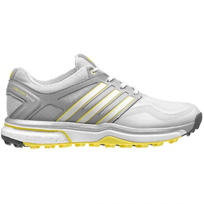 Adidas Women's AdiPower Sport Boost Golf Shoes Grey/Yellow