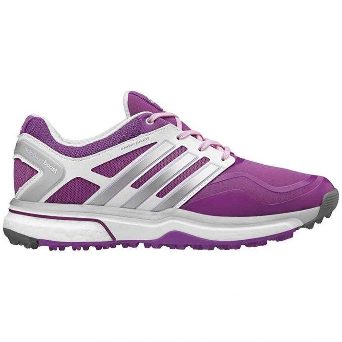Adidas Women's AdiPower Sport Boost Golf Shoes Pink/Silver