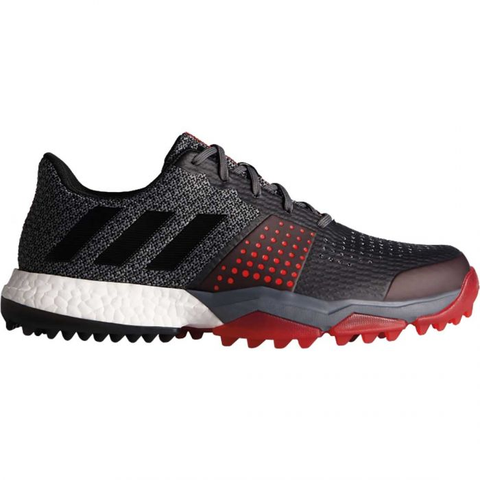 Adidas AdiPower Sport Boost 3 Golf Shoes Black/Red
