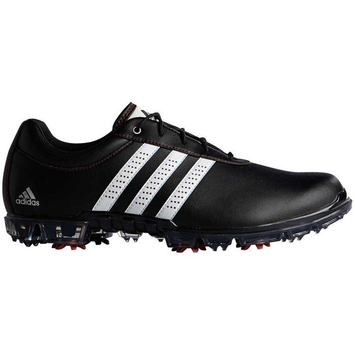 Adidas AdiPure Flex Golf Shoes Black/White/Red