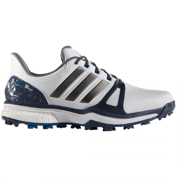Adidas AdiPower Boost 2 Golf Shoes White/Blue