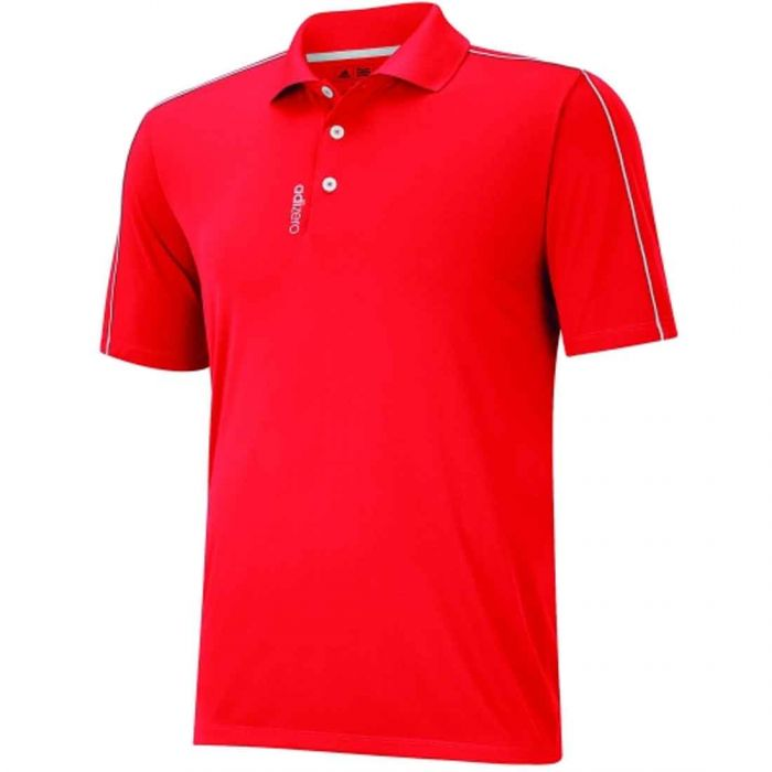 Adidas AdiZero Jersey 3-Stripes Polo