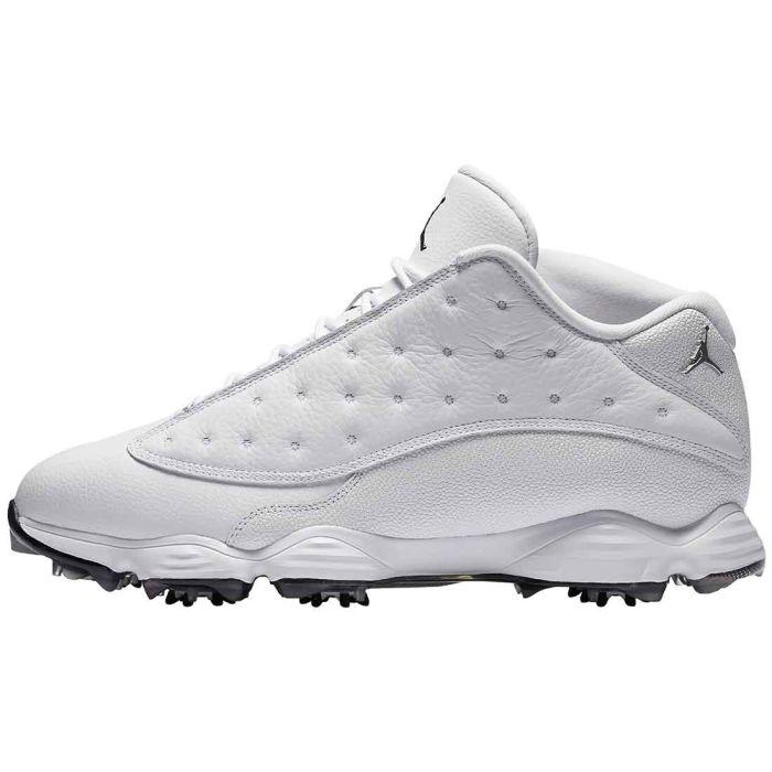 Nike Air Jordan 13 Golf Shoes White/Black