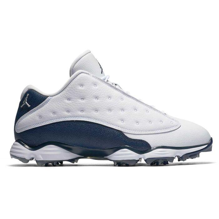 Nike Air Jordan 13 Golf Shoes White